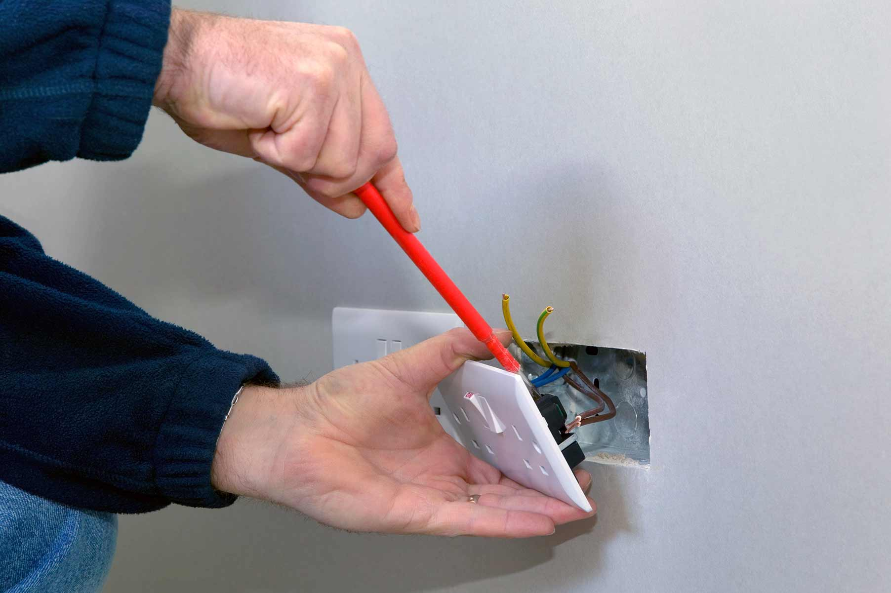 Our electricians can install plug sockets for domestic and commercial proeprties in Stepney and the local area.